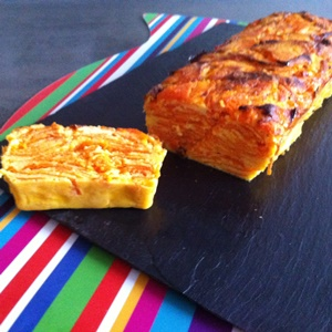 Feuilleté de courge en terrine Low Carb